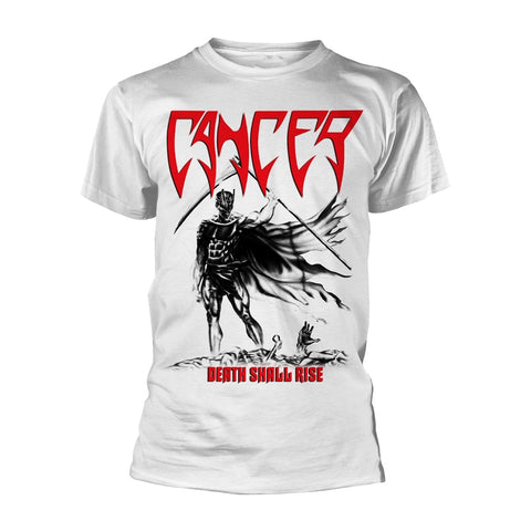DEATH SHALL RISE (WHITE) - Mens Tshirts (CANCER)