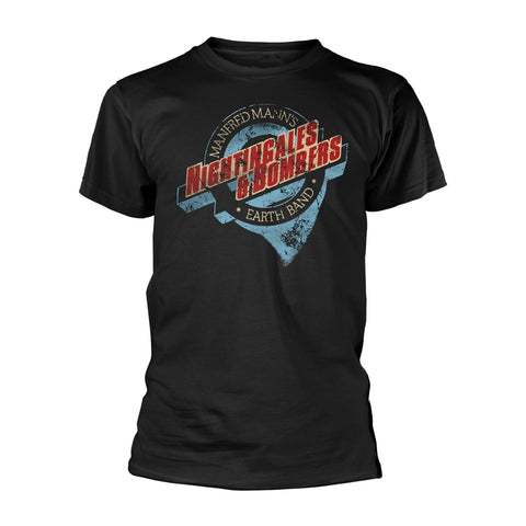 NIGHTINGALES & BOMBERS - Mens Tshirts (MANFRED MANN'S EARTH BAND)