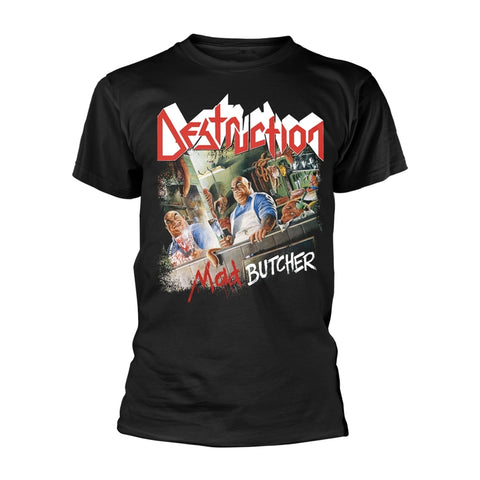 MAD BUTCHER - Mens Tshirts (DESTRUCTION)