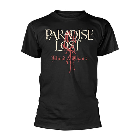BLOOD AND CHAOS - Mens Tshirts (PARADISE LOST)