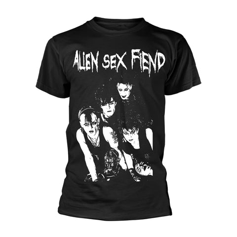 BAND PHOTO - Mens Tshirts (ALIEN SEX FIEND)