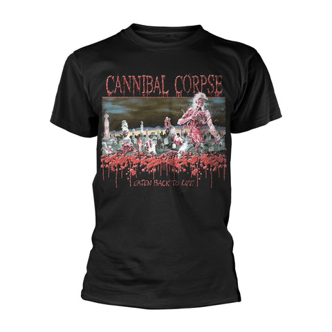 EATEN BACK TO LIFE - Mens Tshirts (CANNIBAL CORPSE)