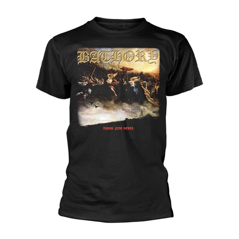 BLOOD FIRE DEATH - Mens Tshirts (BATHORY)