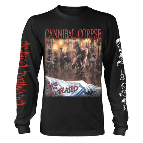TOMB OF THE MUTILATED - Mens Longsleeves (CANNIBAL CORPSE)