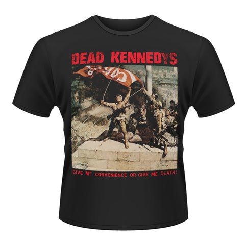 CONVENIENCE OR DEATH - Mens Tshirts (DEAD KENNEDYS)
