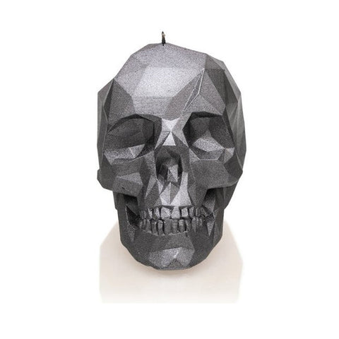 LARGE LOW POLY SKULL - STEEL - General Stuff (CANDLES)