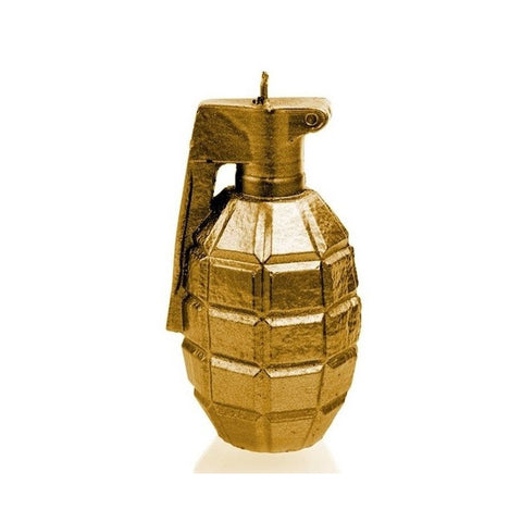 GRENADE LARGE - GOLD - General Stuff (CANDLES)