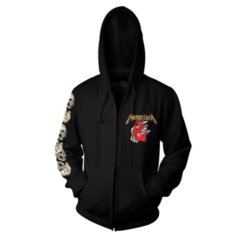 HEART EXPLOSIVE - Mens Hoodies (METALLICA)