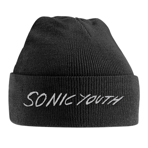 WHITE LOGO (EMBROIDERED) - Headwear (SONIC YOUTH)