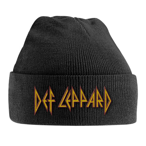 RED/YELLOW LOGO (EMBROIDERED) - Headwear (DEF LEPPARD)