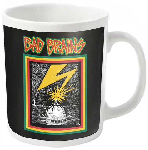 BAD BRAINS (WHITE) - General Stuff (BAD BRAINS)