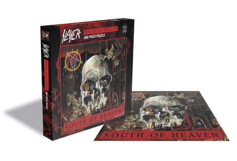SOUTH OF HEAVEN (500 PIECE JIGSAW PUZZLE) - General Stuff (SLAYER)