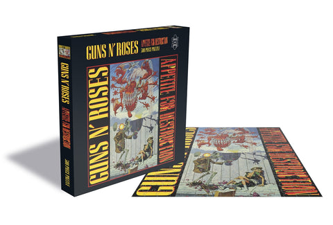 APPETITE FOR DESTRUCTION 1 (500 PIECE JIGSAW PUZZLE) - General Stuff (GUNS N' ROSES)