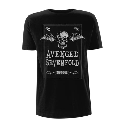FACE CARD - Mens Tshirts (AVENGED SEVENFOLD)