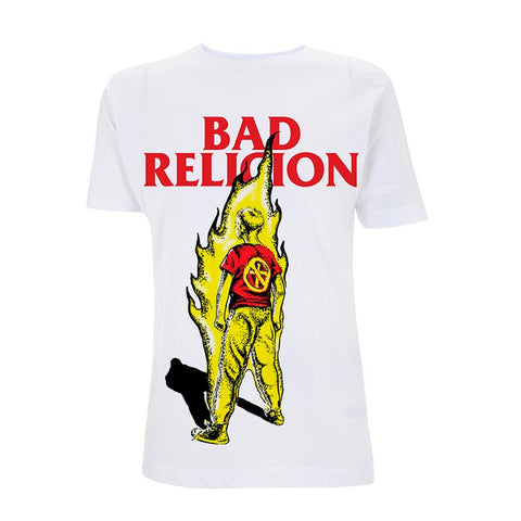 BOY ON FIRE - Mens Tshirts (BAD RELIGION)