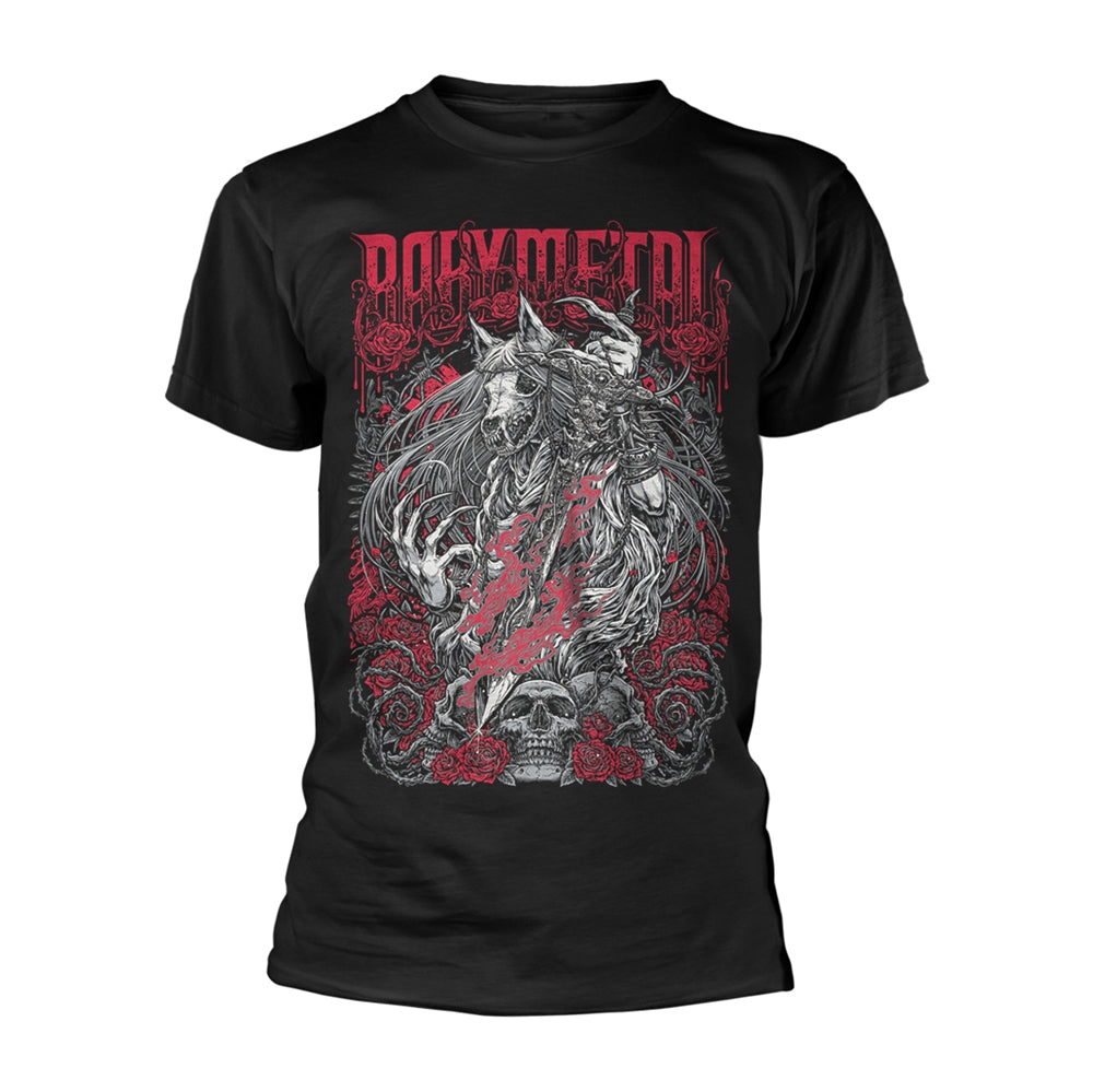Rosewolf Mens Tshirts Babymetal Punk Rock Shop