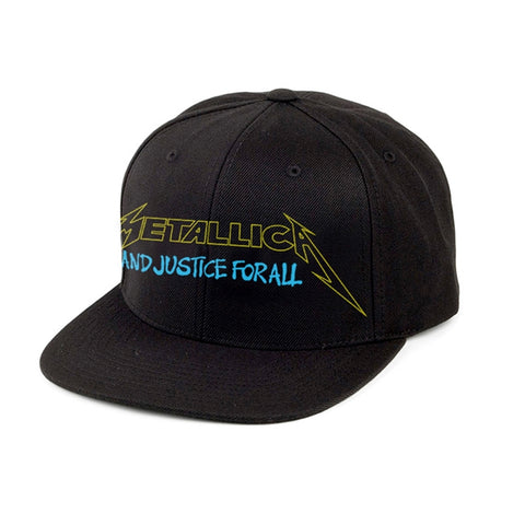 AND JUSTICE FOR ALL BRIGHT STARTER (SNAPBACK) - Headwear (METALLICA)