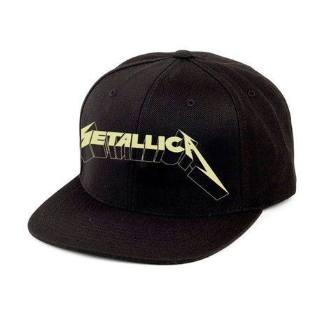 AND JUSTICE FOR ALL GLOW (SNAPBACK) - Headwear (METALLICA)