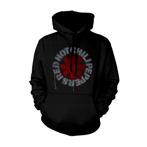 STENCIL ASTERISK - Mens Hoodies (RED HOT CHILI PEPPERS)