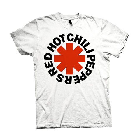 RED ASTERISKS - Mens Tshirts (RED HOT CHILI PEPPERS)