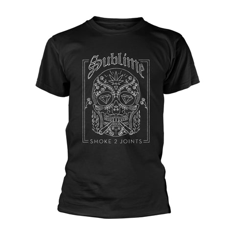 SMOKE 2 JOINTS - Mens Tshirts (SUBLIME)