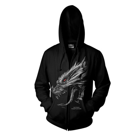 HYDRA HEAD - Mens Hoodies (WITHIN TEMPTATION)