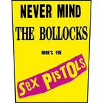 Sex Pistols - Never Mind the Bollocks Backpatch