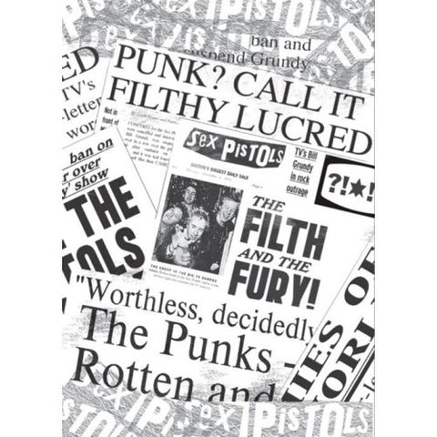 Sex Pistols - Newspaper Filth And The Fury Postcard
