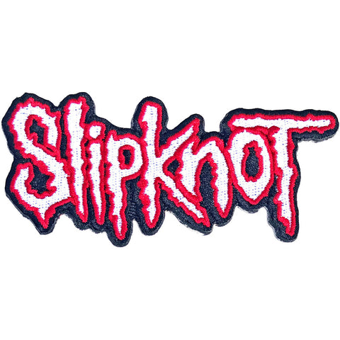 Slipknot - Red Logo Woven Patch