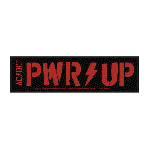AC/DC - PWR Up Woven Patch