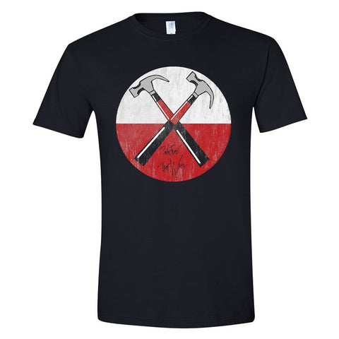 THE WALL HAMMERS - Mens Tshirts (PINK FLOYD)