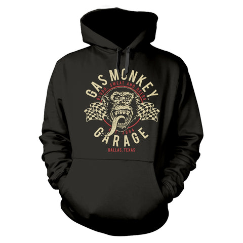TWIN FLAGS - Mens Hoodies (GAS MONKEY GARAGE)