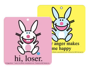 Various Stuff Various Happy Bunny 2 Pack Air Freshener