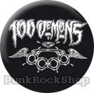 100 Demons Knuckles Badge