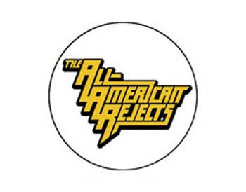 The All American Rejects Gold Logo Badge