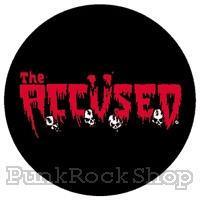 The Accused Logo Badge