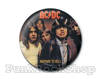 AC/DC Highway to Hell Badge