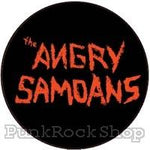 The Angry Samoans Logo Badge