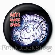 Anti Nowhere League Pig Badge