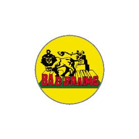 Bad Brains Lion Badge