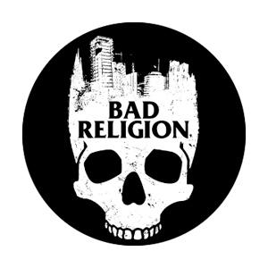 Bad Religion City Skull Badge