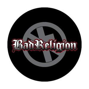 Bad Religion Shadow Cross Badge