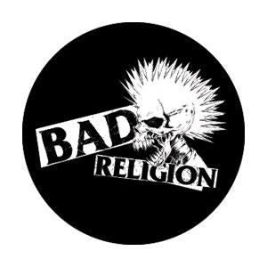 Bad Religion Punk Skull Badge