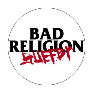 Bad Religion Suffer Badge