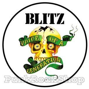 Blitz Voice Of A Generation Badge