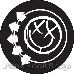 Blink 182 Smile Badge