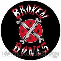 Broken Bones Cross Badge