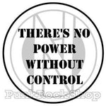 Conflict Theres No Power Without Control Badge