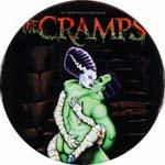 The Cramps Kiss Badge