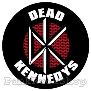 Dead Kennedys Brick Logo Badge